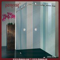 卧室玻璃隔断淋浴房,直销酒店浴室集成钢化玻璃淋浴房DMS-R015