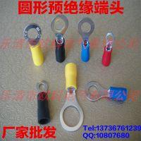供应圆形预绝缘端头RV1.25-4 泉州铜鼻子生产厂家 冷压接线端子
