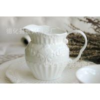英国皇家巴洛克古老陶瓷系列餐具 浮雕花纹 陶瓷咖啡奶杯