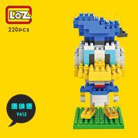 LOZ俐智钻石小颗粒积木儿童拼插益智创意玩具迪士尼唐老鸭9415
