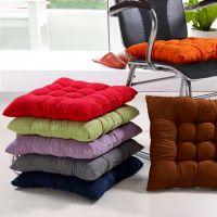 学生坐垫加厚保暖办公室座垫 可爱纯色坐垫 椅子坐垫靠垫