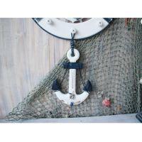 船锚温度计地中海装饰 海洋系列家居装饰摆件挂件 地中海风格