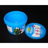 500ml塑料桶 广州塑料桶厂家 颜色自选 不带提手 防盗扣盖子设计 可印刷 长期厂家批发现货