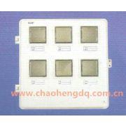 供应CBX-W6l玻璃钢电表箱 六户平门表箱