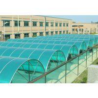 上海阳光板上海车棚雨棚钢结构材料