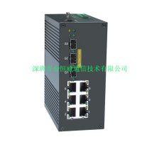 inmax金恒威P609A  6+3G口 增强网管型PoE工业以太网交换机