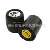 不锈钢拉丝机专用气可鼓,可膨胀橡胶滚筒,套砂带专用胶轮批发
