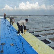 厂房钢结构屋面保温玻璃棉卷毡生产厂家及销售热线