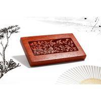 供应花梨实木名片盒-天香款名片盒,商务礼品生产厂家,健康礼品