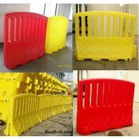 道路隔离围栏厂家直销 塑料防护栏价格 塑料围栏围档、高围栏水马、施工围挡围栏、塑料隔离栏