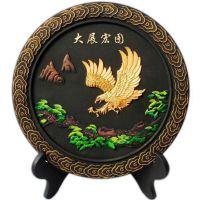 高档创意炭雕 上海商务礼品 家居礼品 环保乌金碳雕 定制logo