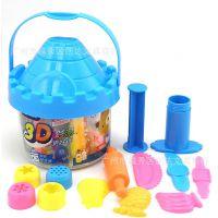 创达文具 ZG-5025 智高3D彩泥 粘土儿童玩具12色橡皮泥模具套装