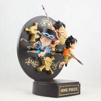 海贼王 路飞 萨博 艾斯 一番赏 三兄弟公仔玩具童年手办模型公仔