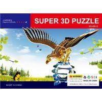 2015江湖产品3D立体拼图模型益智儿童拼图厂家批发3D拼图10元模式送录音