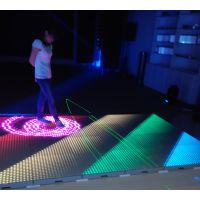 软石互动LED地砖灯,地面互动灯,LED互动系统灯