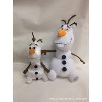 雪人Frozen Ddisney冰雪奇缘公仔毛绒玩具公仔雪宝Olaf迪士尼娃娃