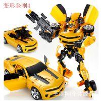 变形金刚4超变金刚擎天柱 大黄蜂 儿童机器人模型男孩 变形玩具