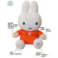 儿童早教礼品正版智能个性下载miffy米菲兔毛绒玩具