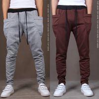外贸EABY速卖通批发 新款男裤哈伦裤小脚长裤飞鼠裤运动裤X62