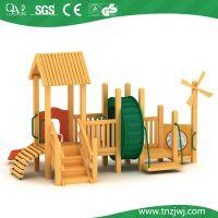 供应中、小型滑梯(木质系列) 其他工程塑料滑梯