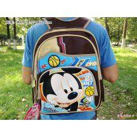 荷花池厂价热销!迪士尼米奇儿童书包小学生书包双肩包批发
