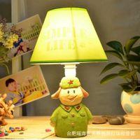 卡通雷锋 创意台灯 树脂台灯 装饰台灯 桌面工作台灯 创意礼物