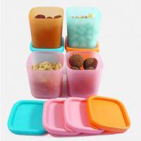 多功能收纳盒迷你230ml保鲜厨房家居日用小回礼品礼物摆地摊货源