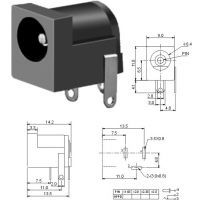 大电流插座 DC插座 电源母座 DC-005-2.0