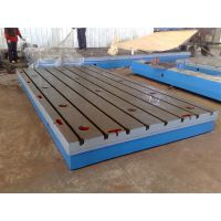 加重加厚优质重型铸铁平板划线焊接装配平台钳工测量检验铸铁平台