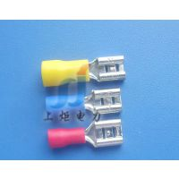 供应厂家供应环保6.3公母接线端子,FDD2-187,冷压端子