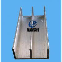 供应铝合金工业铝型材 百叶铝型材 金色氧化铝合金工业型材
