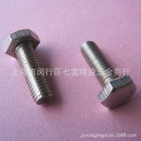 不锈钢外六角螺丝 304不锈钢六角螺栓罗丝 不锈钢螺栓m8*25