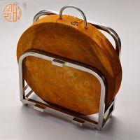 广东广州奥的五金304不锈钢砧板架家用厨房置物架砧板沥水架菜板架案板架W103