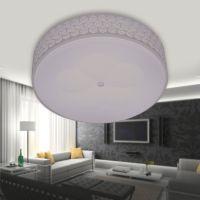 厂家直销LED白色圆形吸顶灯卧室客厅餐厅灯具可定做包工程6025