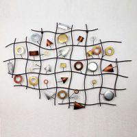 中国供应商 壁挂,壁饰批发市场 创意墙面装饰  材质: 铁 加工定制: 是图片