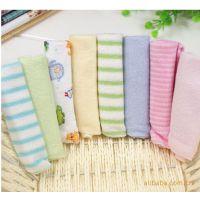 宝宝小方巾婴儿喂奶巾小毛巾手帕纱布喂奶巾 手巾 口水巾 10010