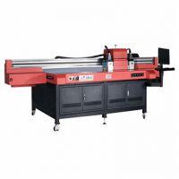 湖南直销金属壳UV印刷机 标识牌八色彩印机