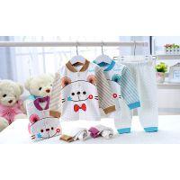 2014款汤博士1259秋装新款活泼可爱童睡衣婴幼儿内衣4312