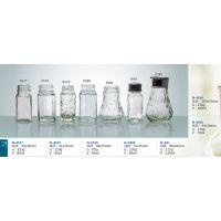 批发 180ML 螺纹款胡椒粉 辣椒粉 调料 玻璃瓶 生产厂家 图0583