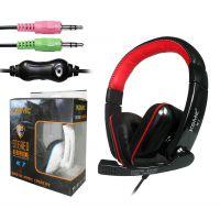 正品 科麦 K7 电脑游戏耳机 3.5mm双插口耳机 带麦耳机时尚耳机
