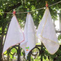 一件代发高精密双层纱布方巾 婴儿手帕 喂奶巾 吸汗巾 全棉 方巾