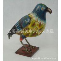 动物摆件工艺品 鸟类造型摆件 铁艺工艺品定制