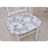 绗绣单垫椅子垫加棉布艺便宜椅垫冬季学生垫厂家批发