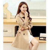 6803# 2014秋季外套风衣韩版女学生装外套一件代发官网