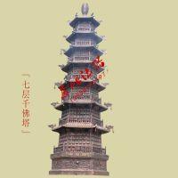 寺庙大型千佛塔 万佛塔 铸铁宗教用品 佛教工艺品 苍鸿直销