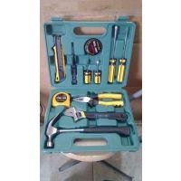 12件套工具套装车家两用五金工具组合套装维修 礼品型五金工具箱
