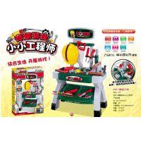 雄城正品过家家儿童工具台套装小工程师多功能维修玩具多功能工具
