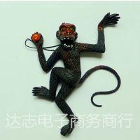 整人玩具 防真玩具 防真挂件 整人防真大猴子 颜色随机发