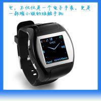 供应低价促销时尚迷你手表手机情侣款 生活防水腕表手机MQ007