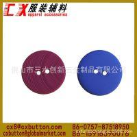 创新钮扣厂批圆形2眼塑料纽扣 优质大衣塑料纽扣 彩色塑料钮扣